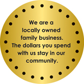 Make a difference in our community.  Shop Local First!